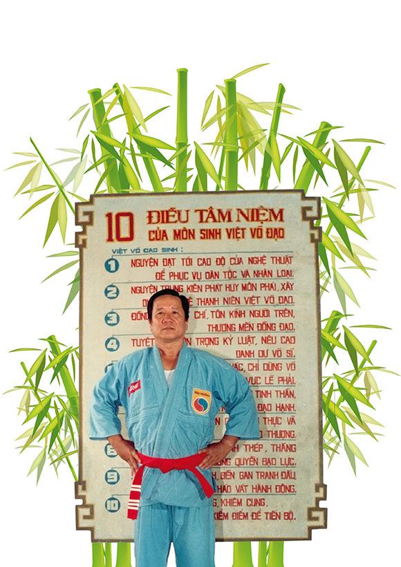Maitre TRÂN Huy Phong, Ancien Patriarche Vovinam